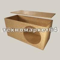 Короб 1х15 (закрытый ящик, ДСП) конструктор (саморезы и герметик в комплекте)