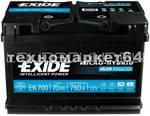 EXIDE EK 700
