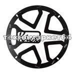 Kicx Комплект объёмных грилей Kicx 8А (чёрный)